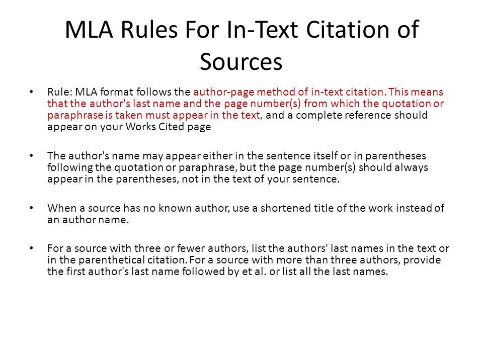 mla format means - Peopledavidjoel