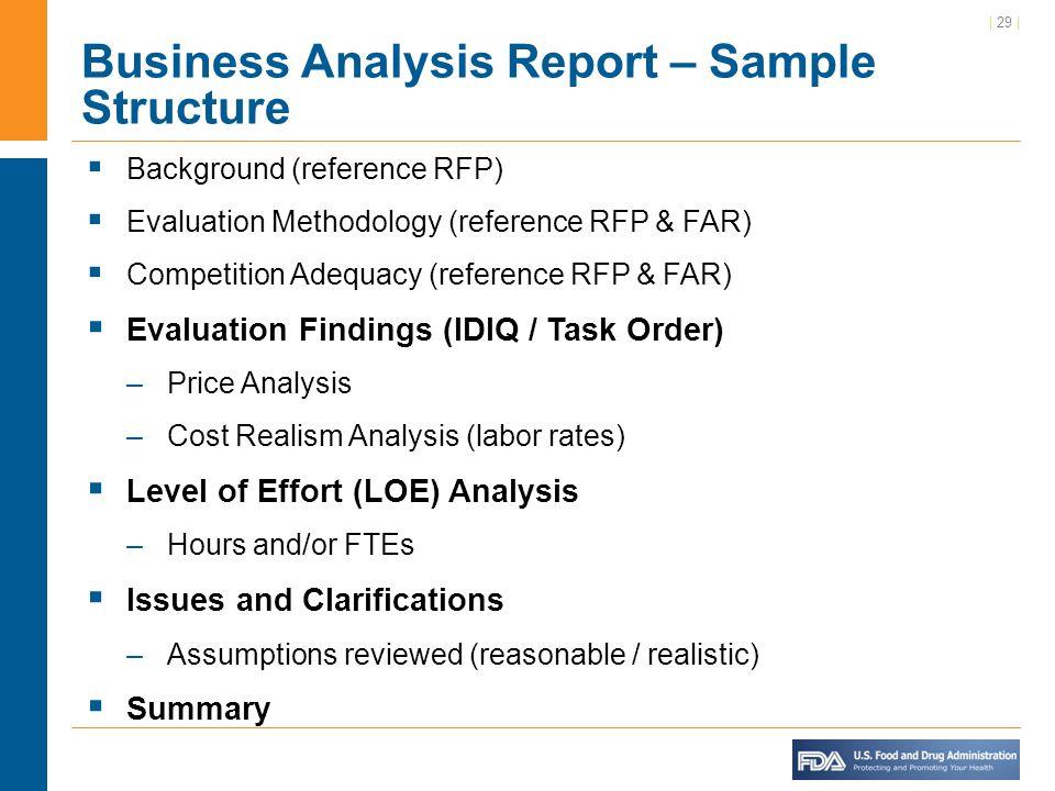 sample business project report - Romeolandinez - business analysis report