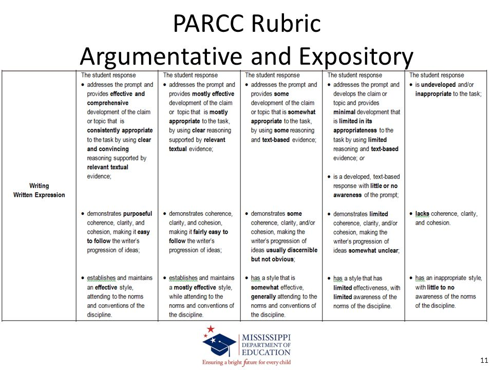 Writing rubric for argumentative essay Term paper Help