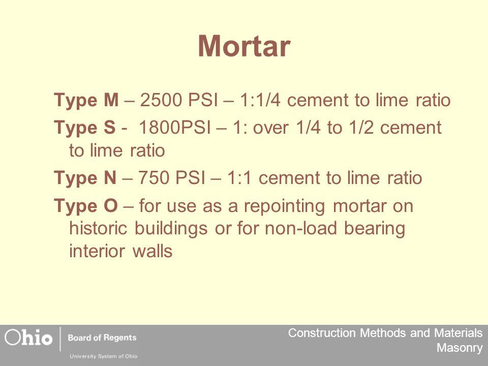 Construction Methods and Materials Masonry Masonry - ppt download