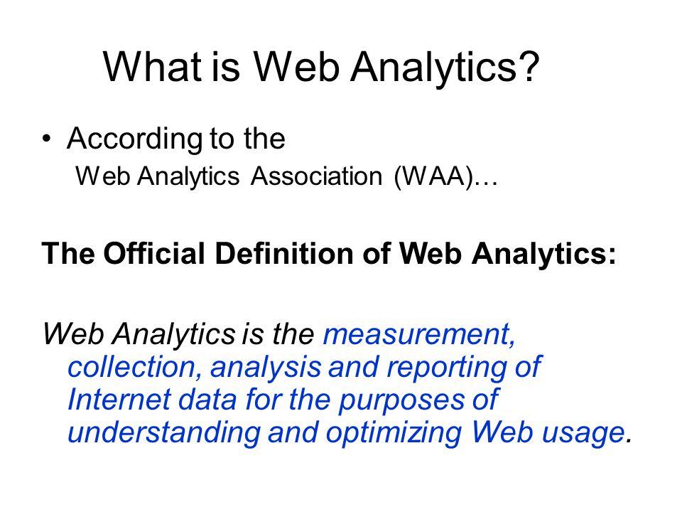 Web Analytics Overview Mitchell Teixeira - ppt download