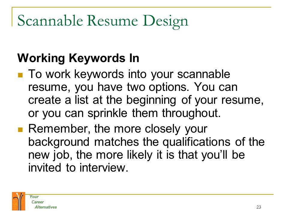 human resources resume keywords