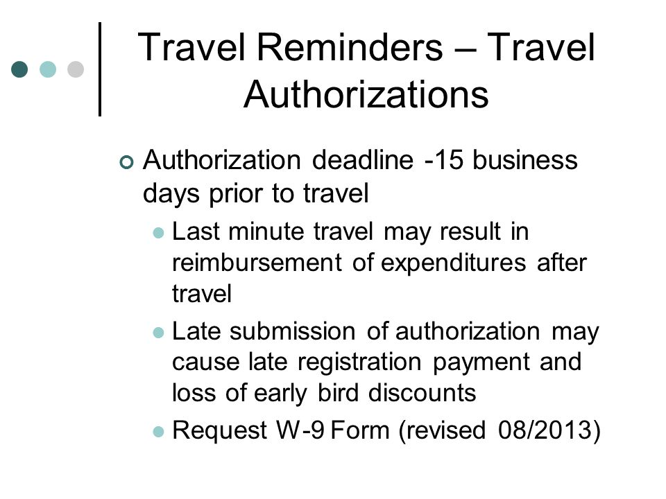 Travel Procedures  Mileage Reimbursement Forms Accounts Payable - Mileage Reimbursement Forms
