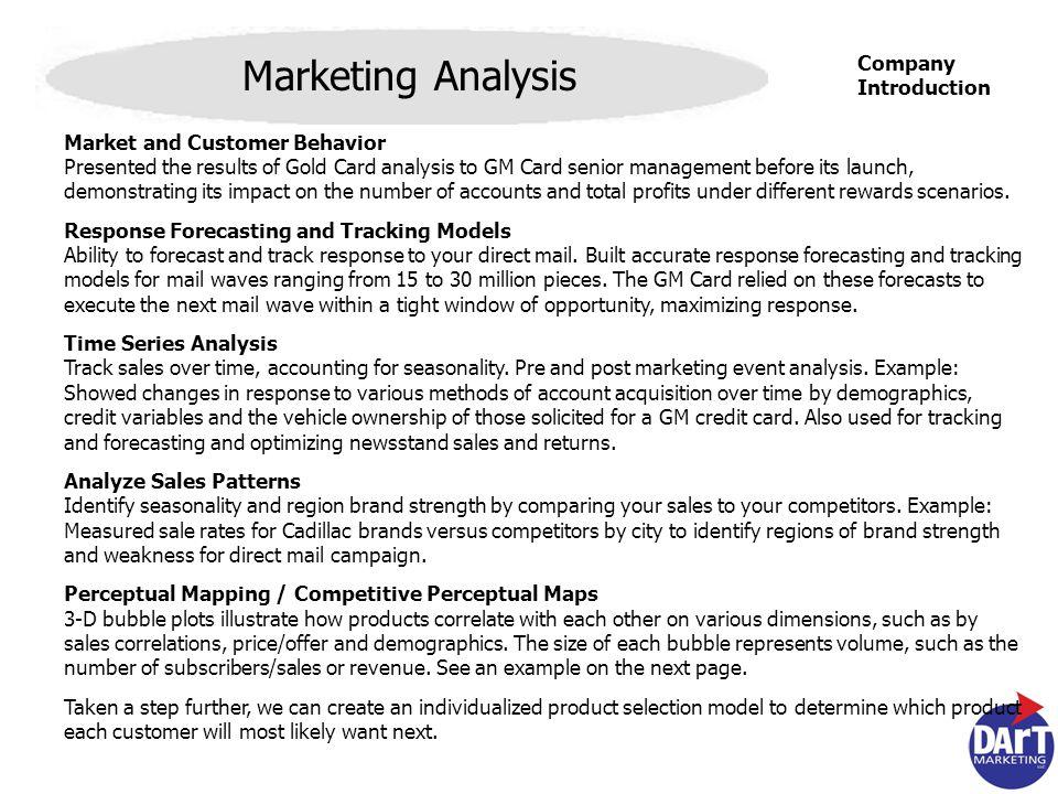 Company Introduction Dart Marketing, LLC Company Introduction