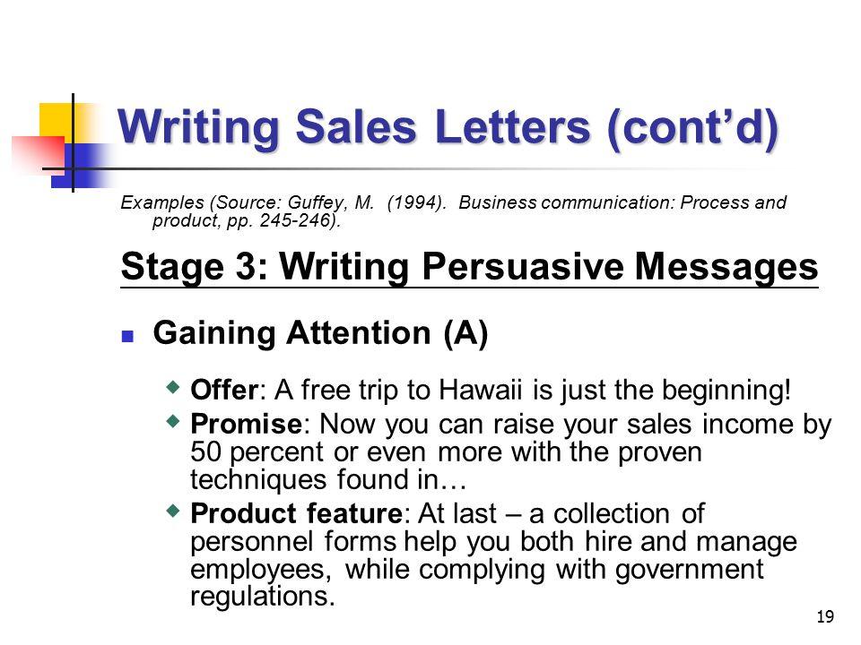 Lecture 7 Persuasive Messages 2 Persuasive Messages IPreparing to