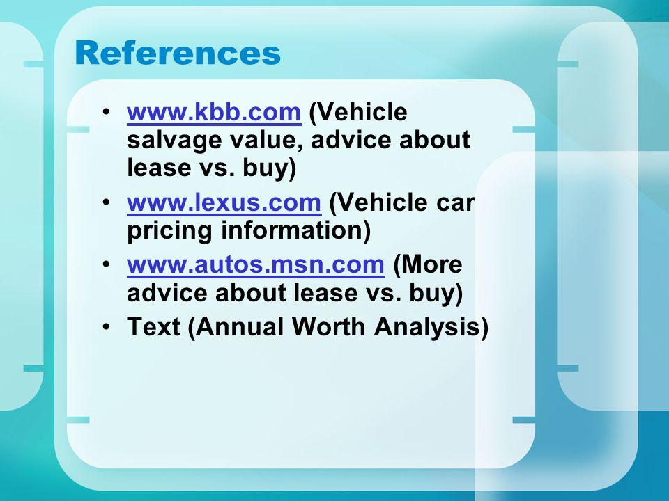 Team #6 Presentation Buy or Lease a Car Joyce Barcimo - Presenter