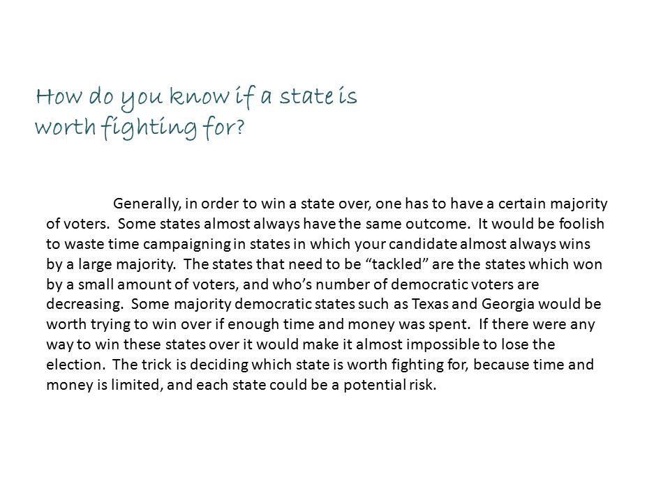 Electoral Strategy Memo Project President Obama Purpose The - strategy memo