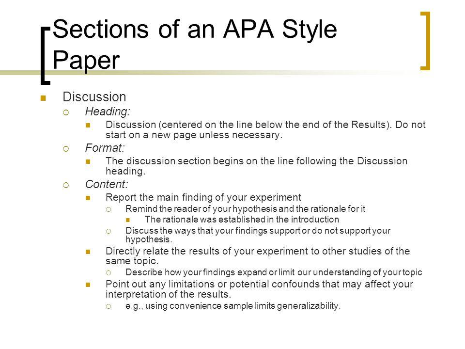 apa format paper sections - Carnavaljmsmusic