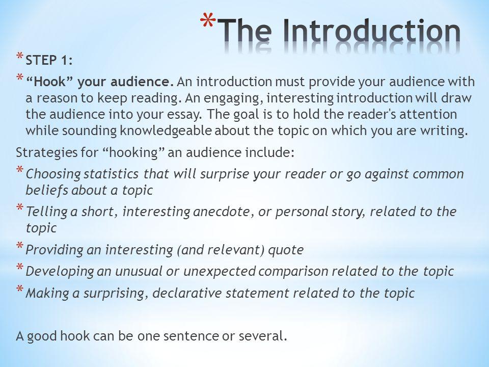 hook for essay essay hooks introduction de dissertation sur le r