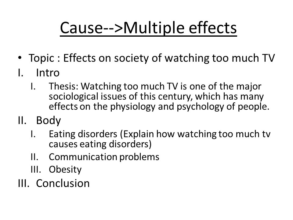 effect obesity essay Cause / effect essay cause / effect essay specific vocabulary obesity is a cause the following example is an outline for an effect essay about the effects of.