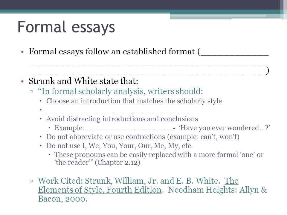 formal essays a hrefquot deskbeksanimportscomformal