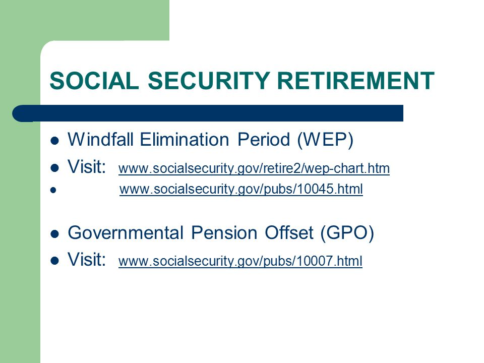 MEDICARE and SOCIAL SECURITY IMPLICATIONS RELATED to YOUR SURS