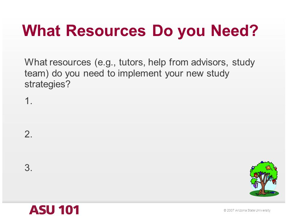 Success at ASU Part II Additional Tips and Strategies Presenter