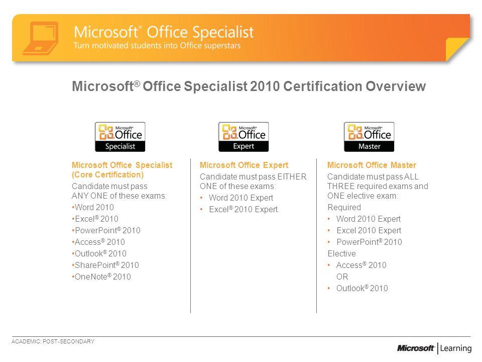 microsoft word 2010 certification - zaxa