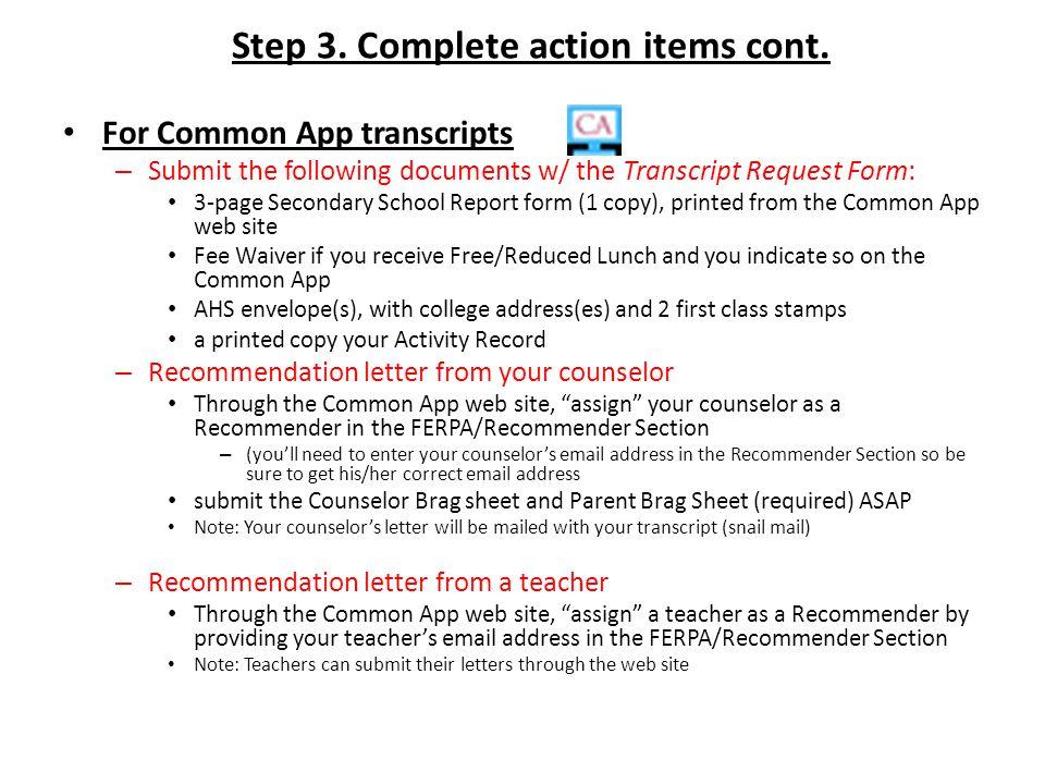 Transcript Request Process The Transcript Request Process applies to