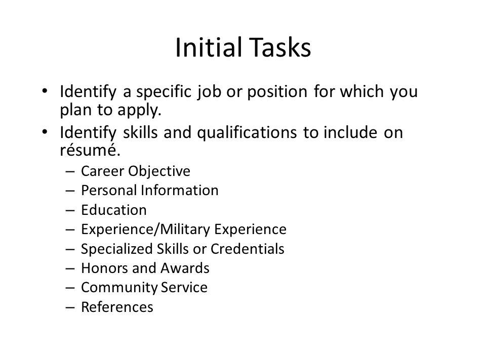 Definitions Résumé\u2014a detailed list or outline of a job applicant\u0027s