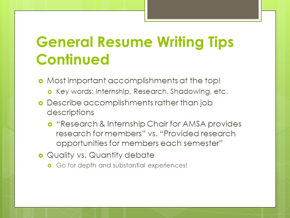 Apply to Research  Internships Resumes, Cover Letters - general intern job description