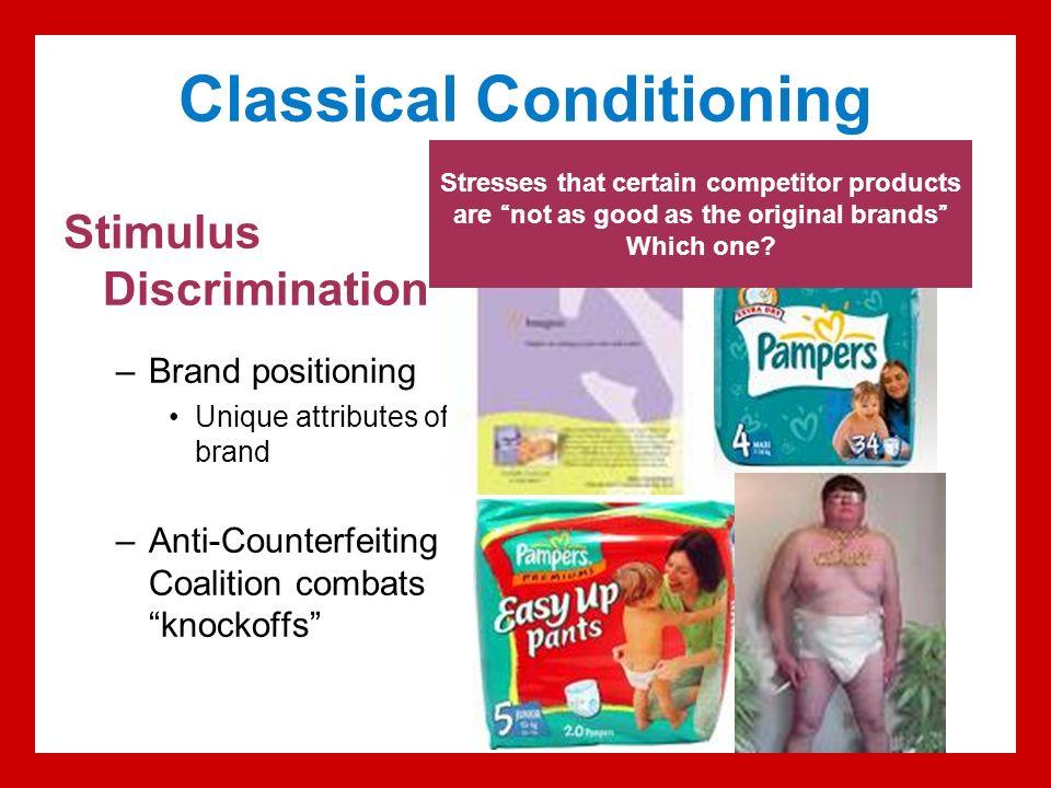 Stimulus discrimination example