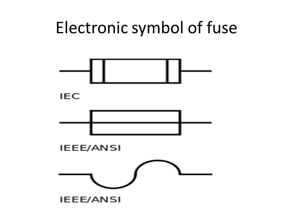 Electrical Diagram Fuse Symbol - Carbonvotemuditblog \u2022