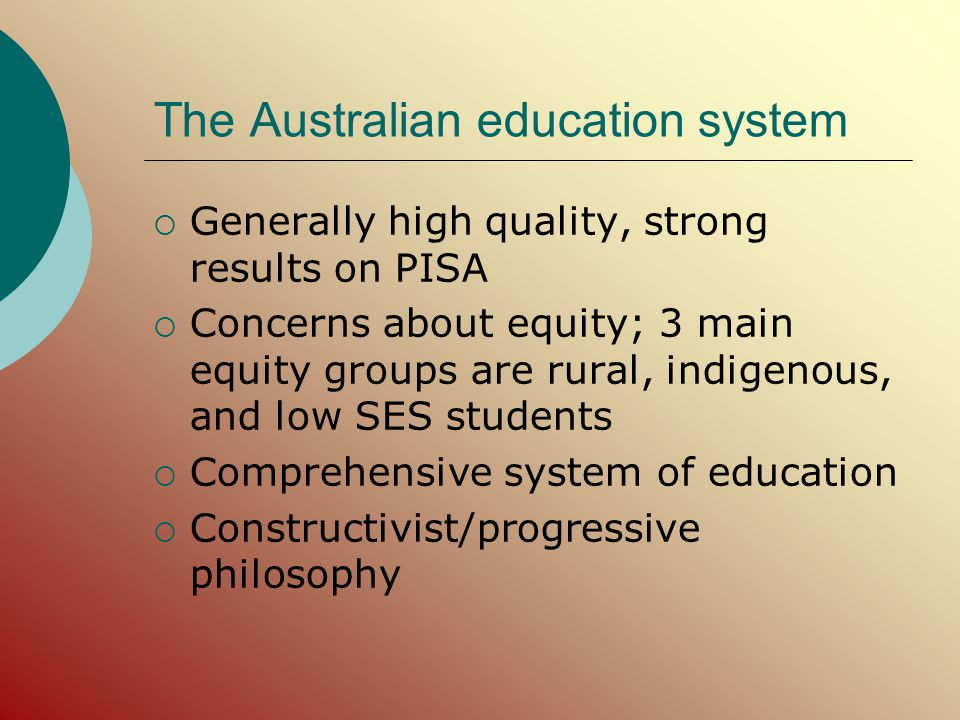 A comparative analysis of educational equity in Australia and Canada