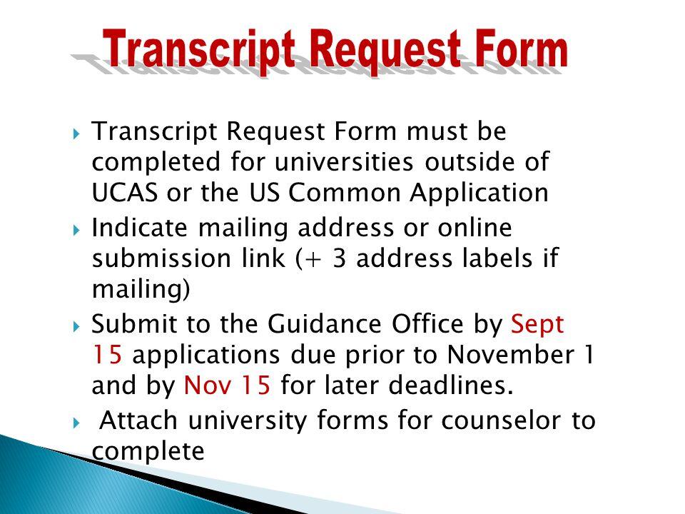 A Complete Application Includes  Student Application (UK \u2013 UCAS