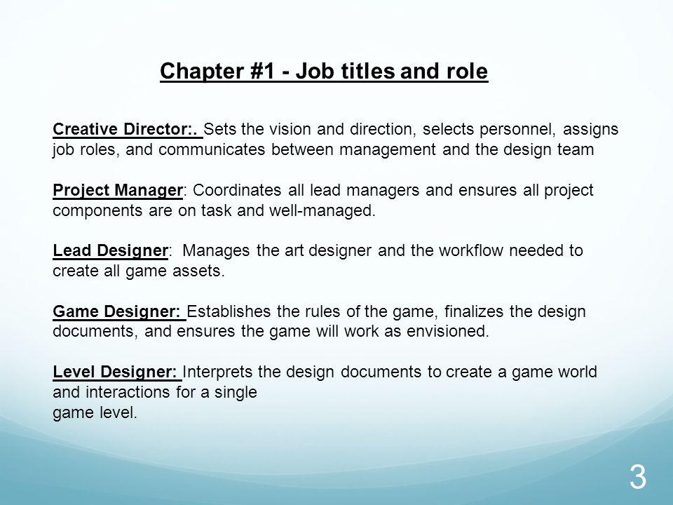 Game Designer Job Description Roles Salary And More! 5794345 - pacte - game designer job description