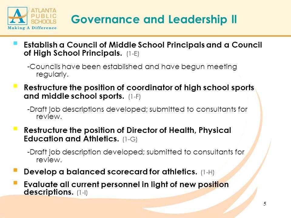 atlanta public schools athletic audit update march ppt download athletic director job description - Endocrinologist Job Description