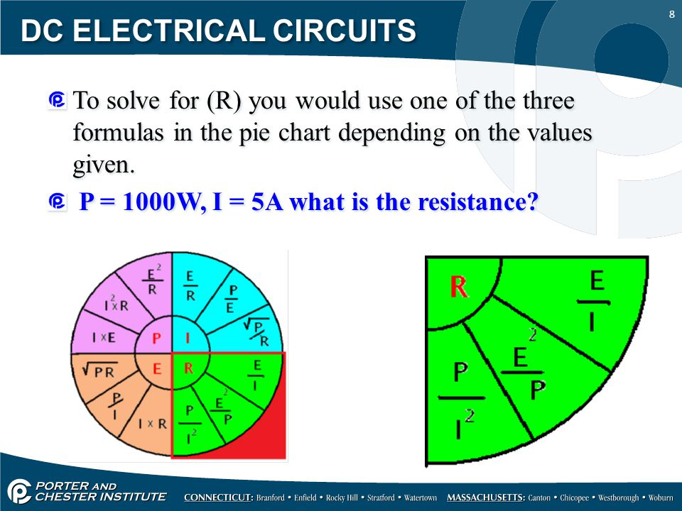 1 DC ELECTRICAL CIRCUITS POWER 2 DC ELECTRICAL CIRCUITS Power is