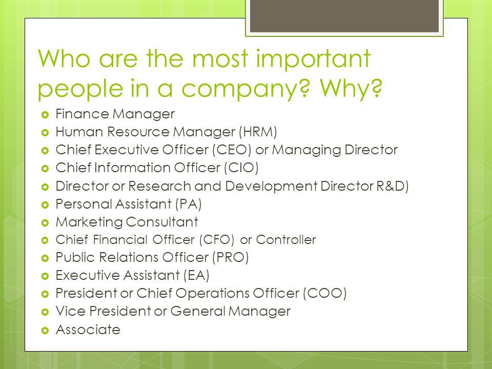 Job Descriptions and Dream Jobs March 20, Common Business Job - marketing consultant job description