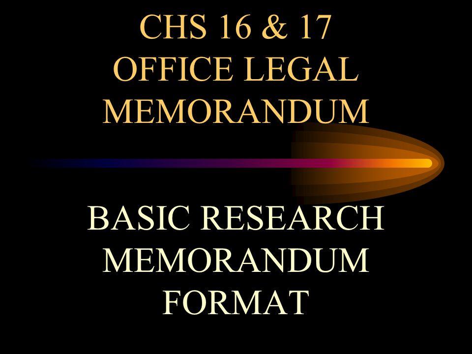 Internal Memo Template To File