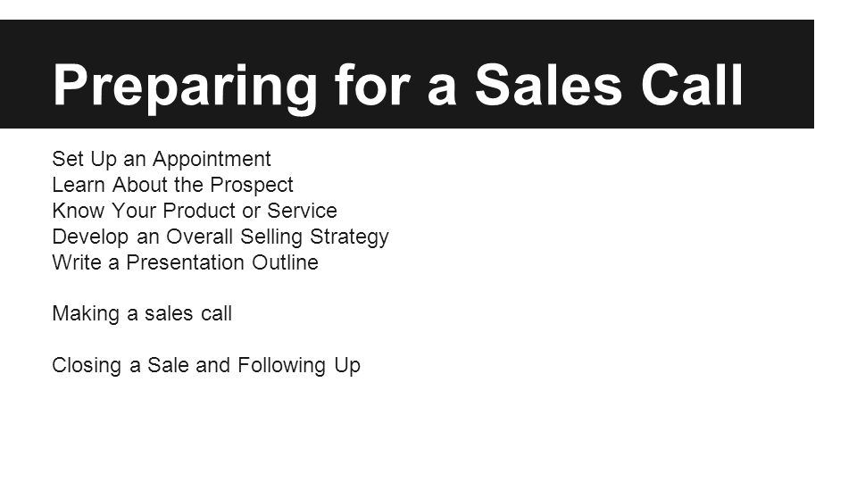 sales presentation outline - Thevillas - product sales presentation