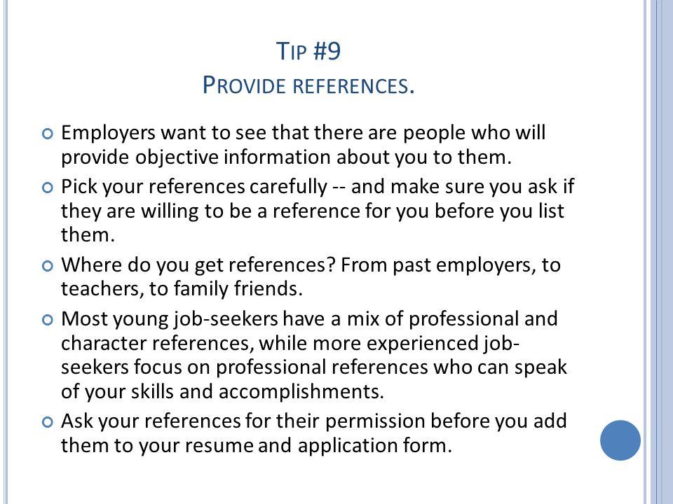 T HE J OB A PPLICATION OST286 Professional Development Getting a job