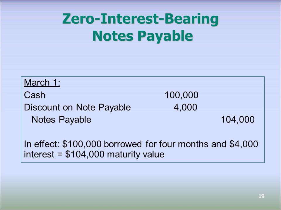 Prepared by Dragan Stojanovic, CA Rotman School of Management - note payables