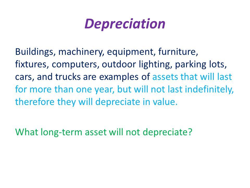 Depreciation /d/depreciationasp - ppt download