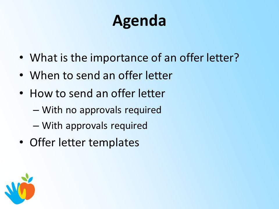Hiring Manager/Supervisor Training Offer Letters - ppt download - offer letters
