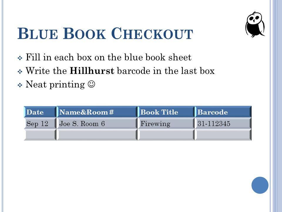 HILLHURST SCHOOL LIBRARY ORIENTATION SEPTEMBER ppt download