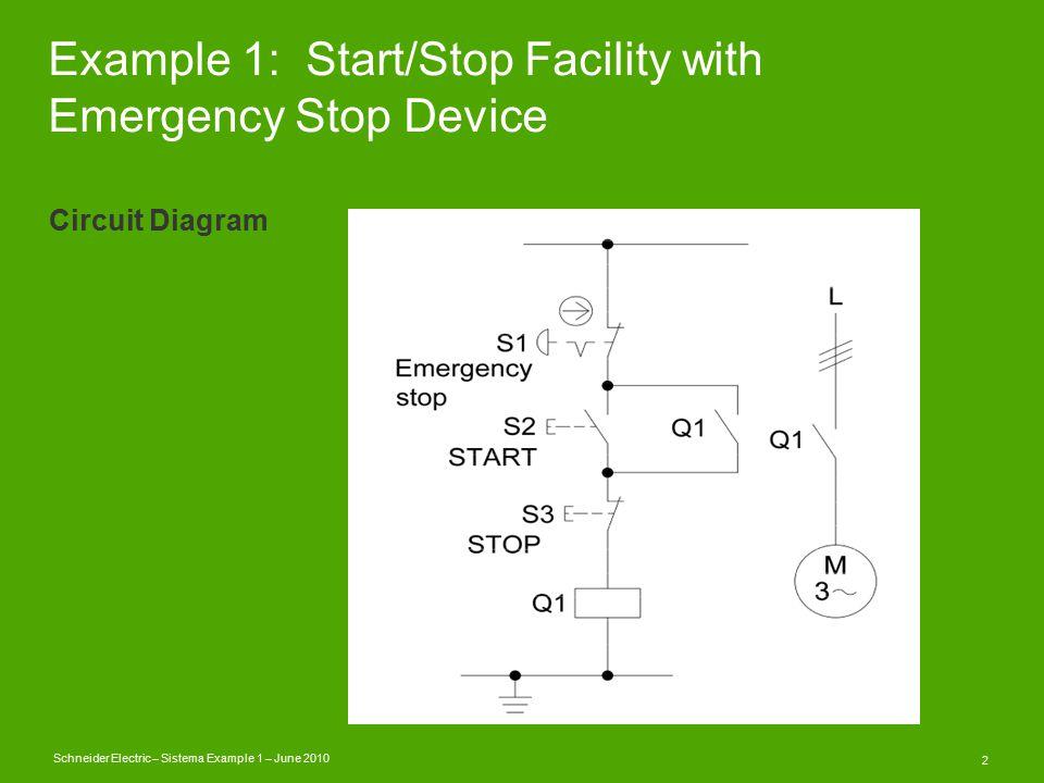 SISTEMA Example One Schneider Electric \u2013 Sistema Example 1 \u2013 June