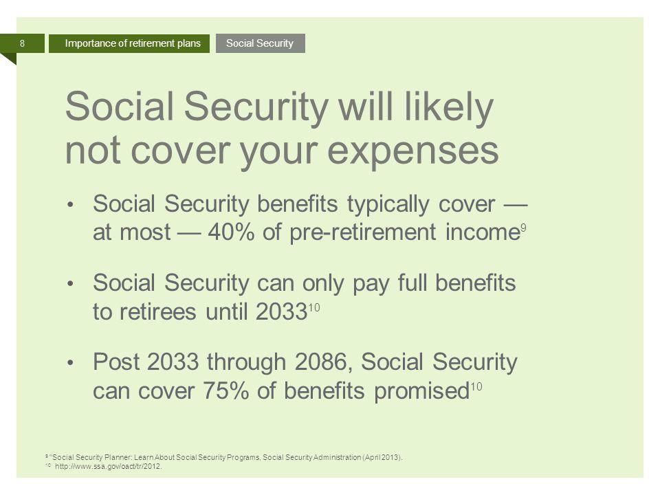Increasing contributions presentation Increasing contributions in - retirement programs