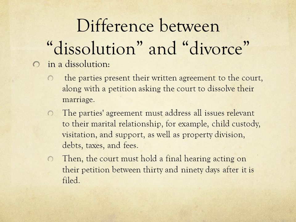 Introduction to Family Law Divorce and division of property - ppt