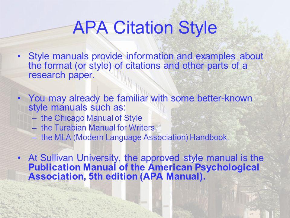 Chicago style citation example essay