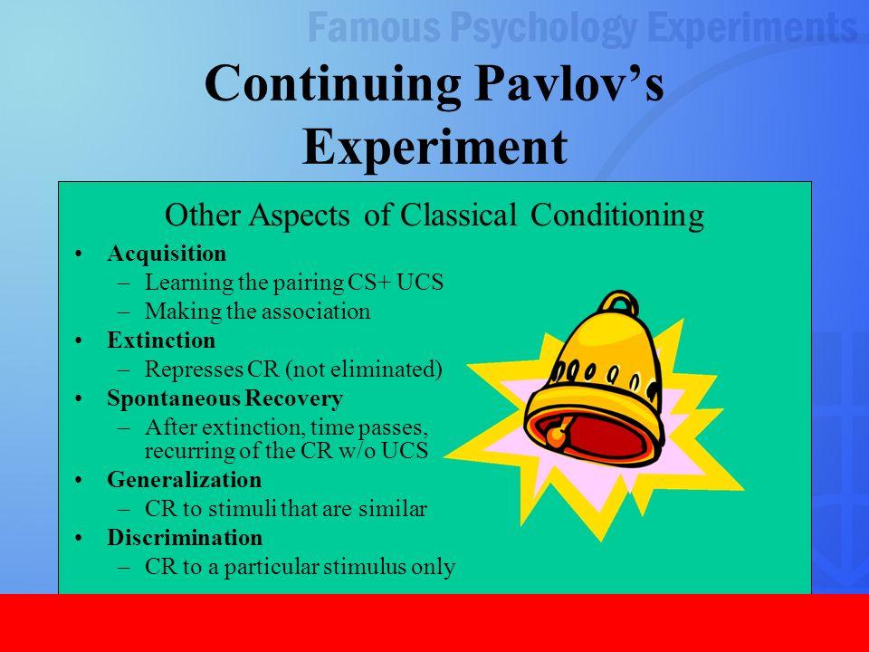 1 Famous Psychology Experiments 2 Ivan Pavlov Classical