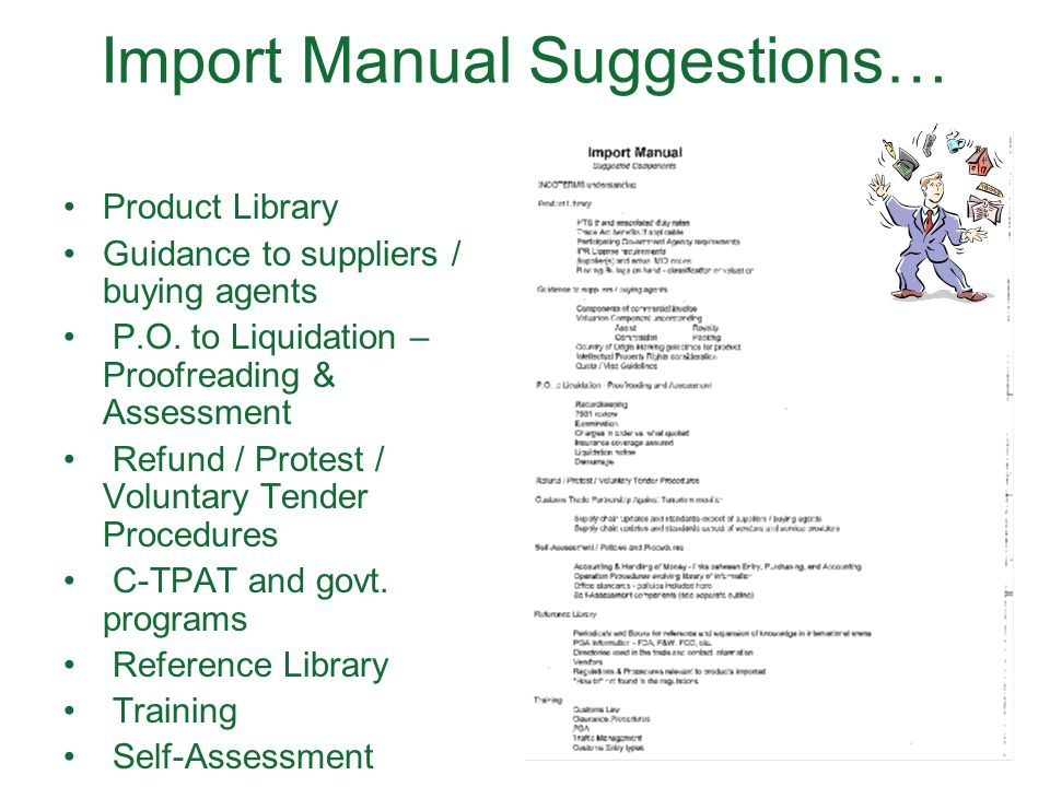 Customs Compliance Manual Template - Wiring Library \u2022 - compliance manual template