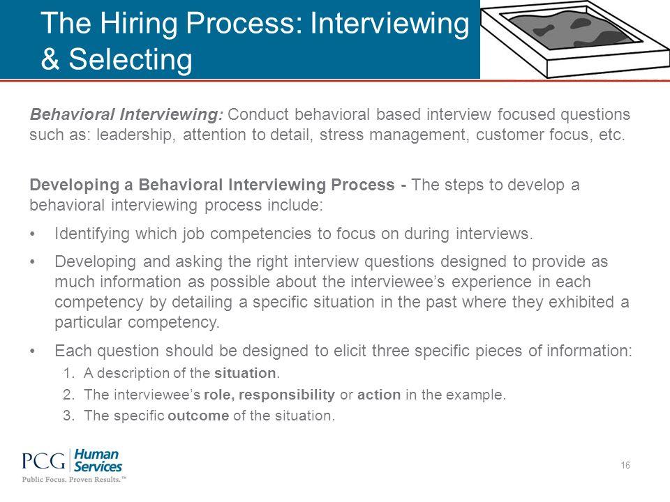 Behavioral Based Interviewing kicksneakers