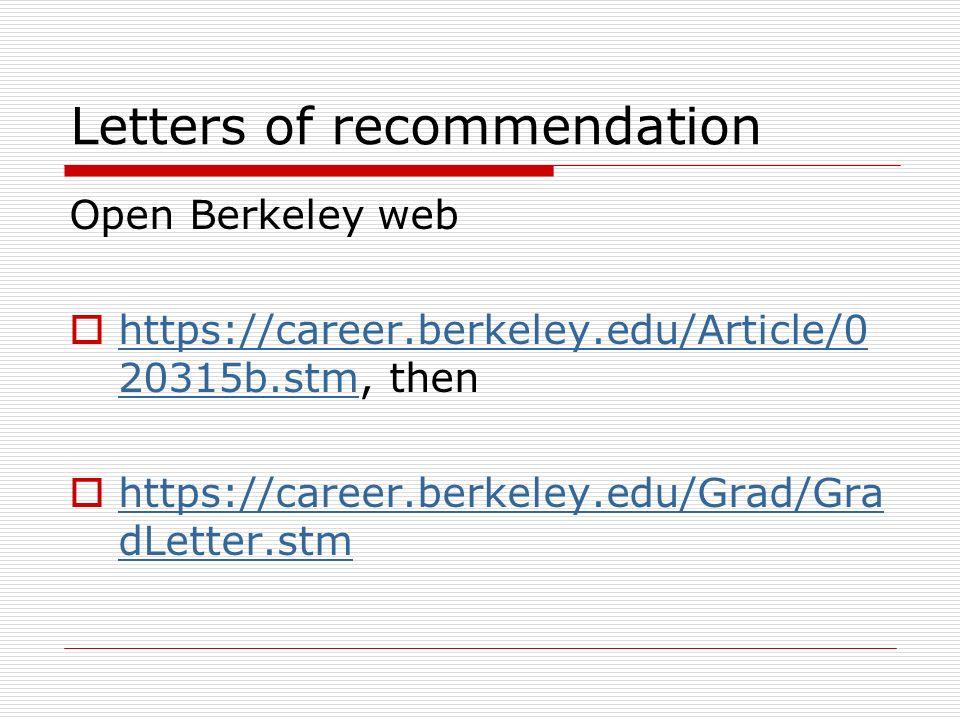 berkeley letter of recommendation - Rioferdinands
