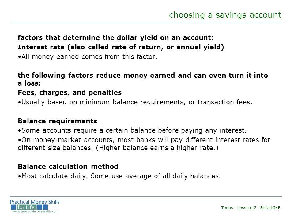 Money Market Account Rate Calculator - Best Market 2017