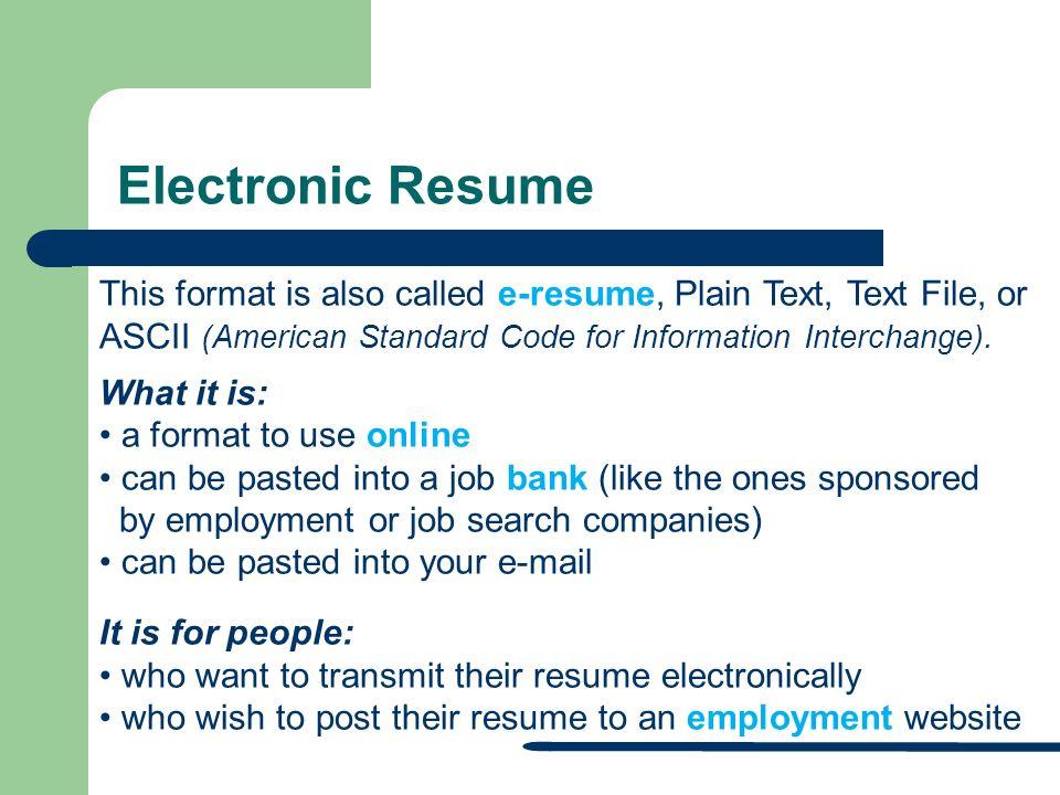 E Resume Format E Resume Format E Resume Format E Resume Format E