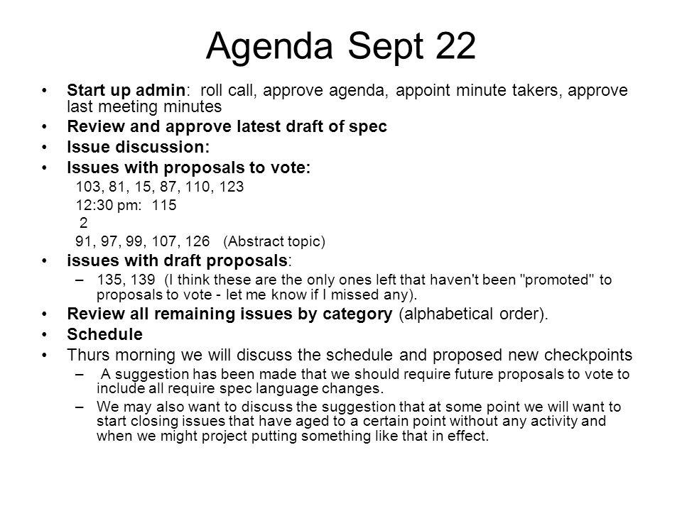 Annotated Agenda Template Eliolera – Draft Meeting Agenda
