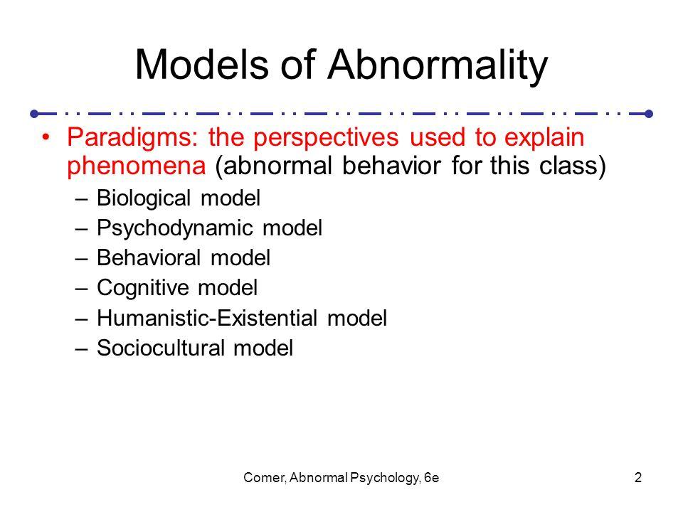 Psychological definitions of abnormal behavior essay Homework