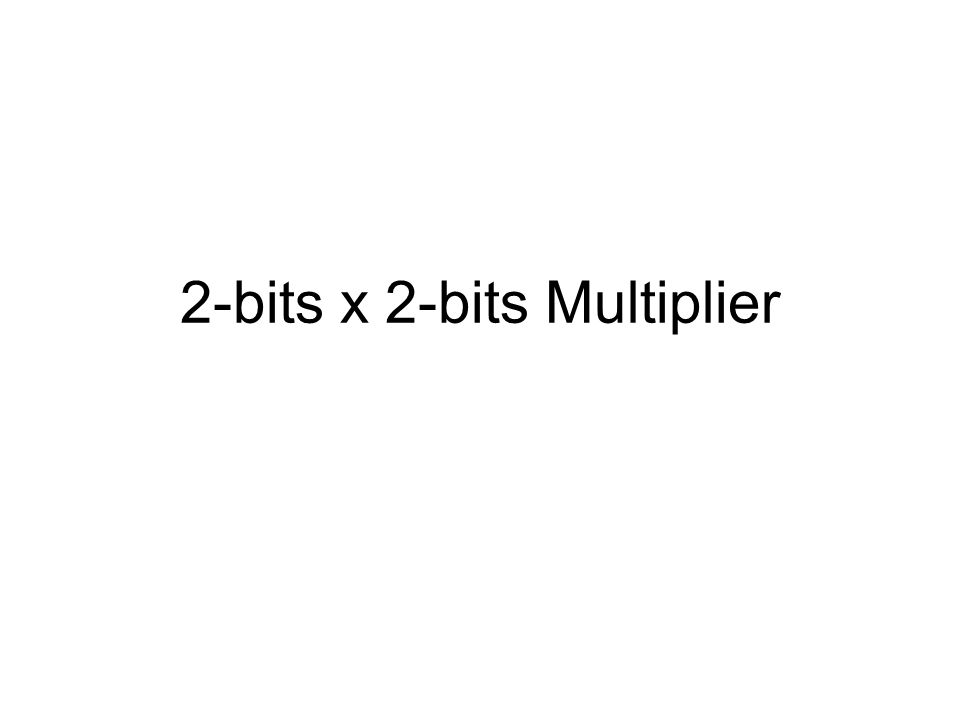 Adders and Multipliers Review ARITHMETIC CIRCUITS Is a