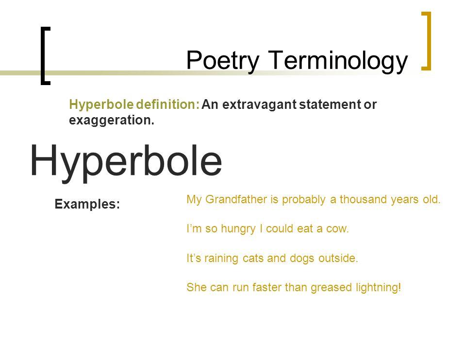 Hyperbole Examples Cvfreeo
